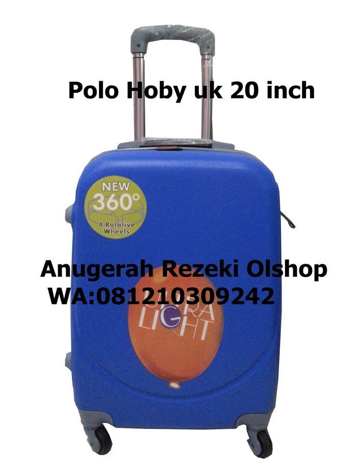 ASLI!!! Tas Koper Polo Hoby Ukuran 20 Inch Tipe 003