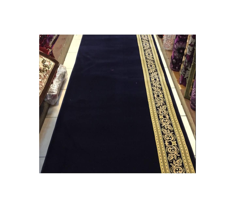 karpet masjid murah meteran warna biru TEBRIZ