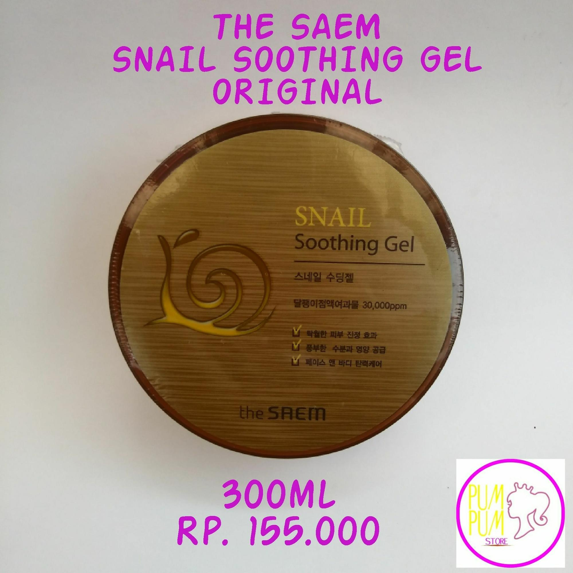 Buy Sell Cheapest The Saem Snail Best Quality Product Deals Soothing Gel