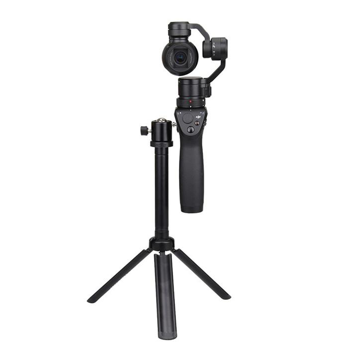 Best Seller!! Handheld Camera Tripod Head Bracket For Dji Osmo Monopod Dslr Hp Vlog - ready stock