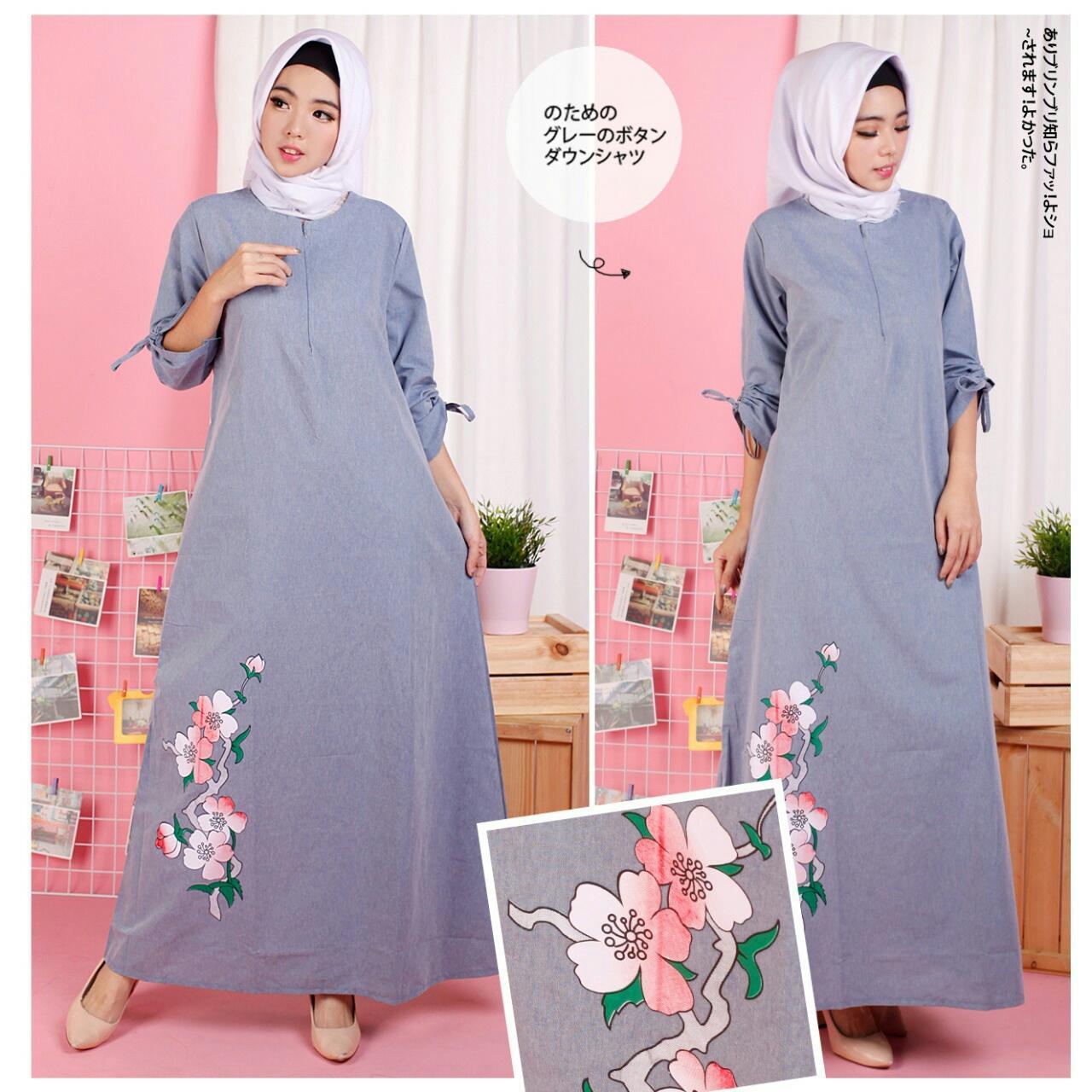 FJCO Renata Maxy / Maxi Dress / Fashion wanita / Fashion MuslimahIDR84900. Rp 85.000