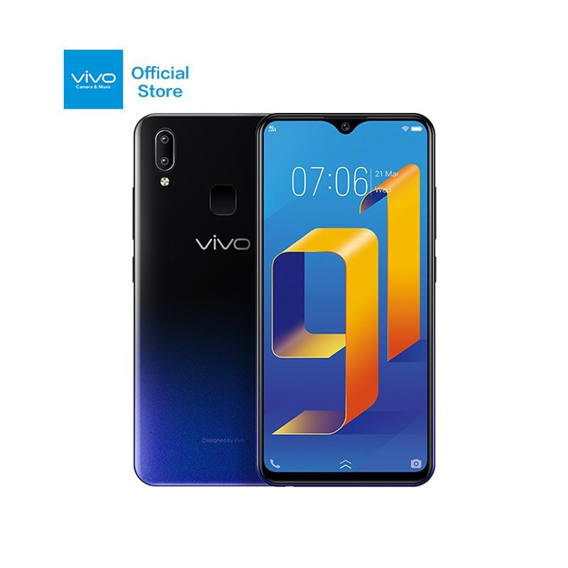 VIVO Y91 - Starry Black [16GB/ 2GB] + Bluetooth Speaker