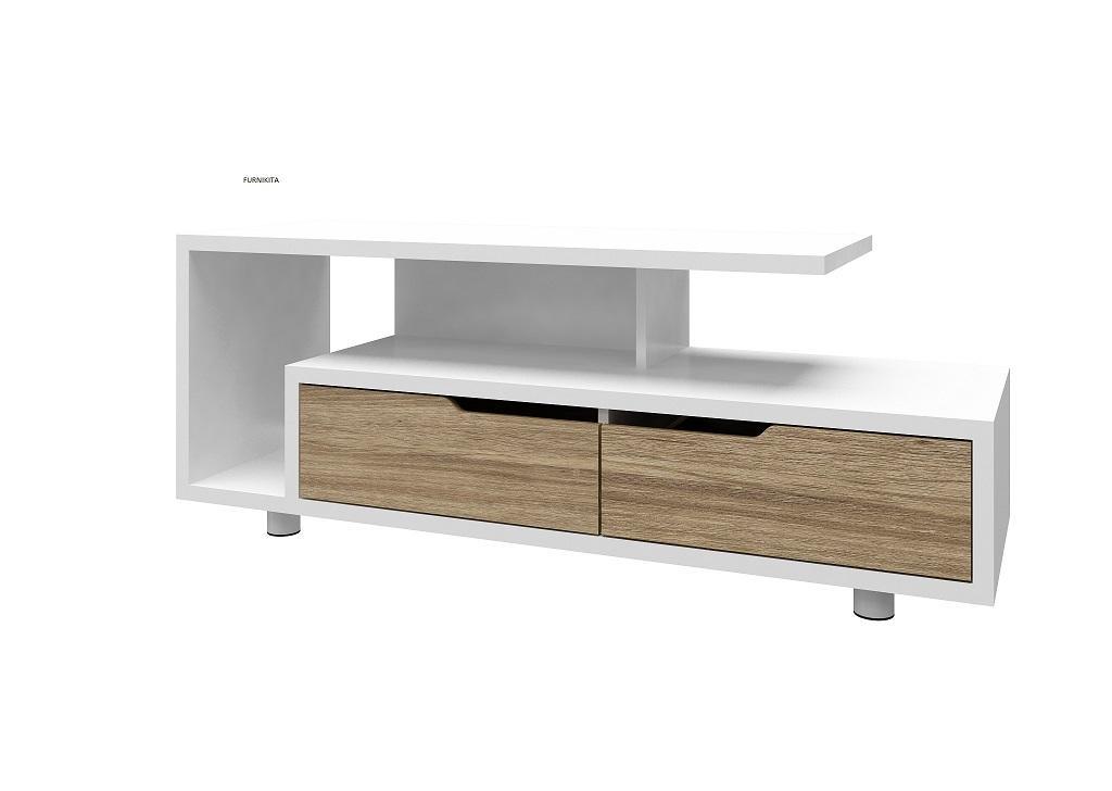Meja Rak Tv Modern Minimalis Washington By Furnikita Furniture.