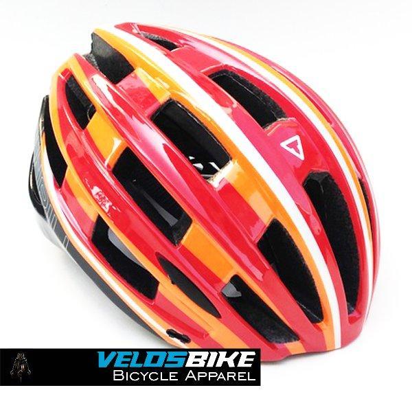 Helm sepeda Road XC Helm balap THRILL Orange - velosbike