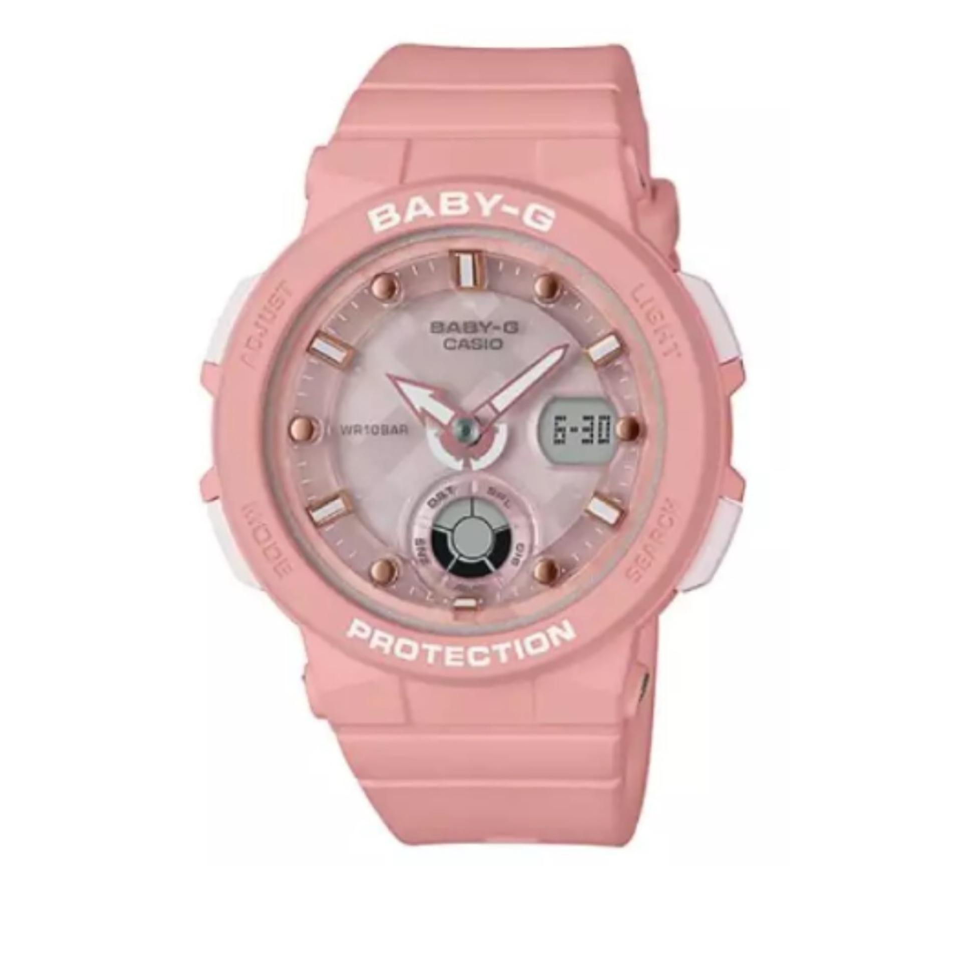 Jual Jam Tangan Casio Baby G Terbaru Ba 120 1b Hitam Bga 250 4adr Wanita Pink