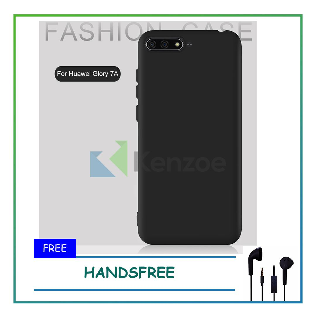 Kenzoe Case Super Slim Black Matte Huawei Honor 7A Baby Skin Softcase Ultra Thin Jelly Silikon