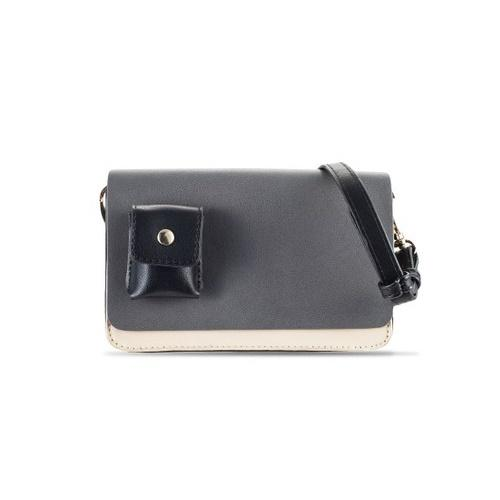 Tri-Coloured Small Double-Gusset Sling Bag