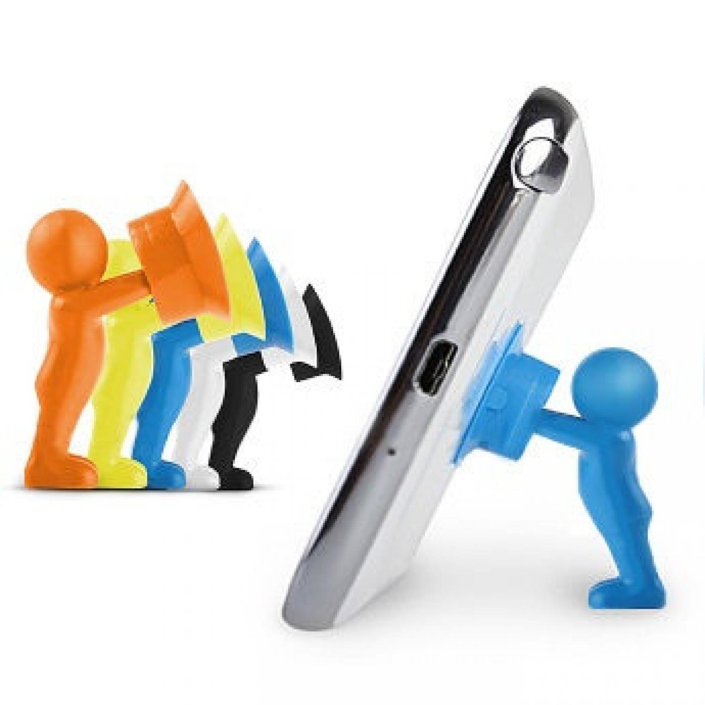 Best Seller!!! 3D Man Stand Hercules Mobile Phone Holder Original Asli Murah