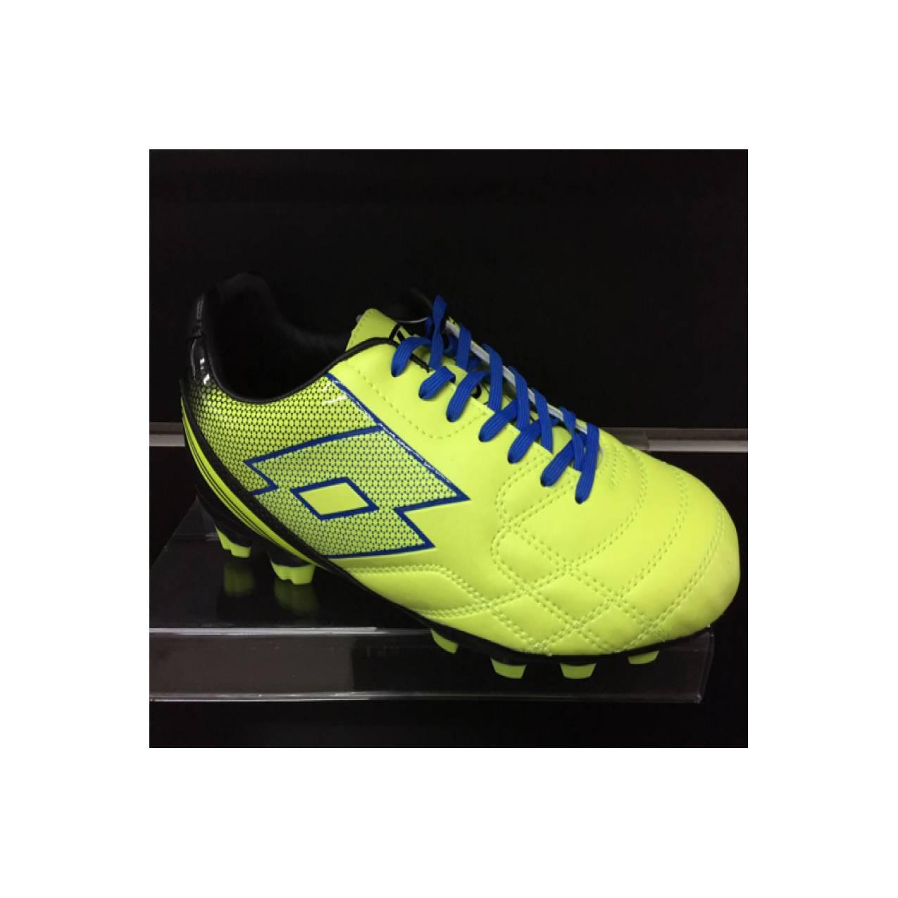 Sepatu bola lotto original soccer Spider XI FGT yellow saf /white
