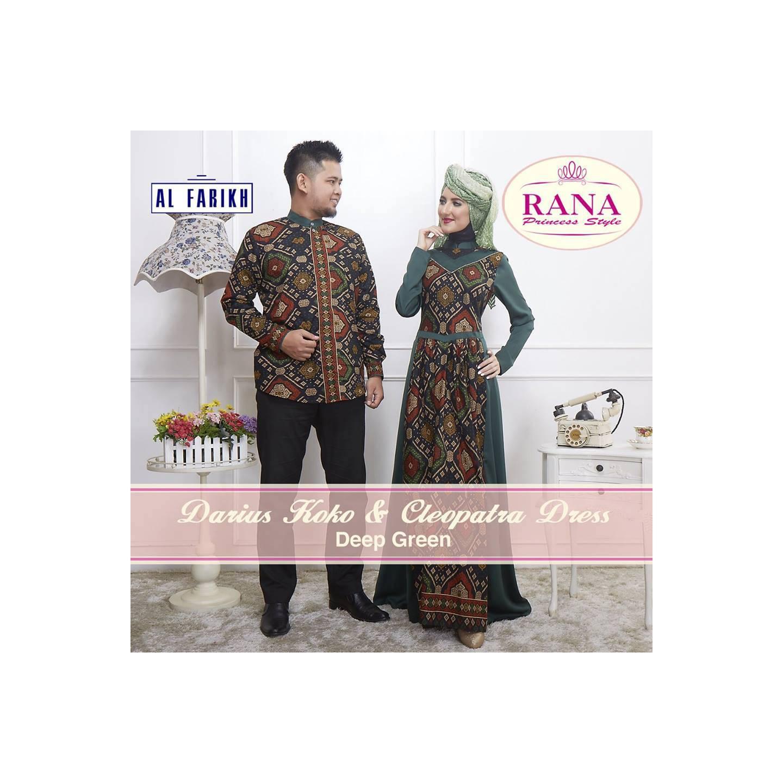 Rana Cleopatra Dress/Gamis Pesta/Baju Muslim Couple