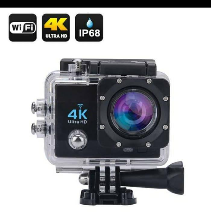 ACTION CAMERA 4K ULTRA HD WIFI WATERPROOF Terlaris di Lazada