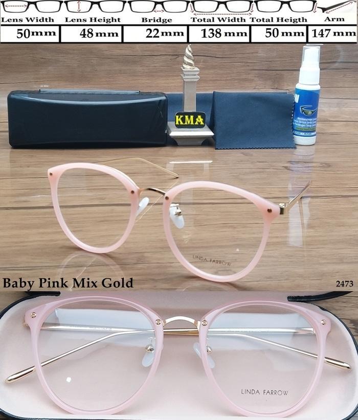 frame kacamata minus LINDA FARROW frame minus kacamata retro classic 663a83184b