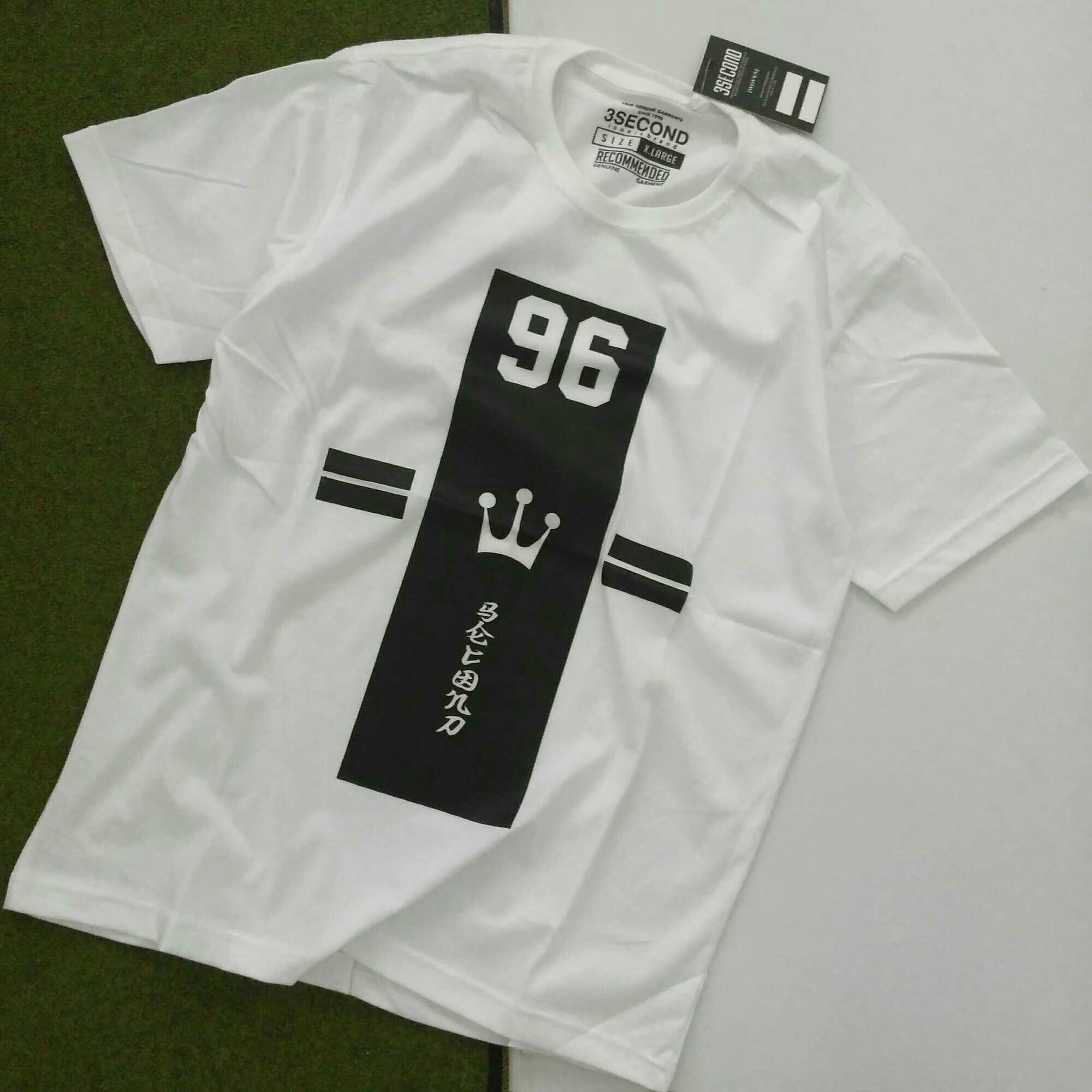 Rp 80.000. Kaos 3second Greenlight Pria Wanita Khusus Size XL Kaos Distro  Bandung Gratis Stiker Tshirt Bigsize Oblong CowokIDR80000 9d95fa8a02
