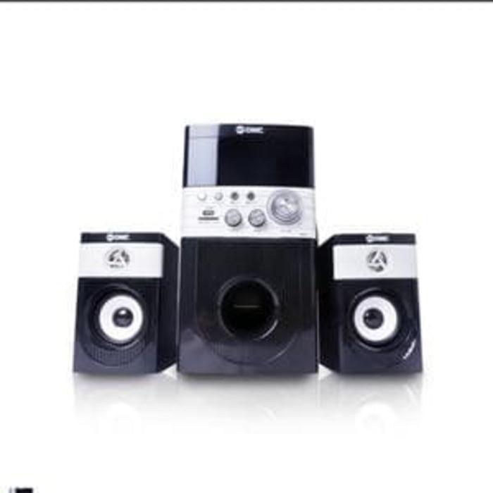 GMC 888Q Multimedia Speaker Aktif 90WRMS Active Subwoofer System 2.1Ch