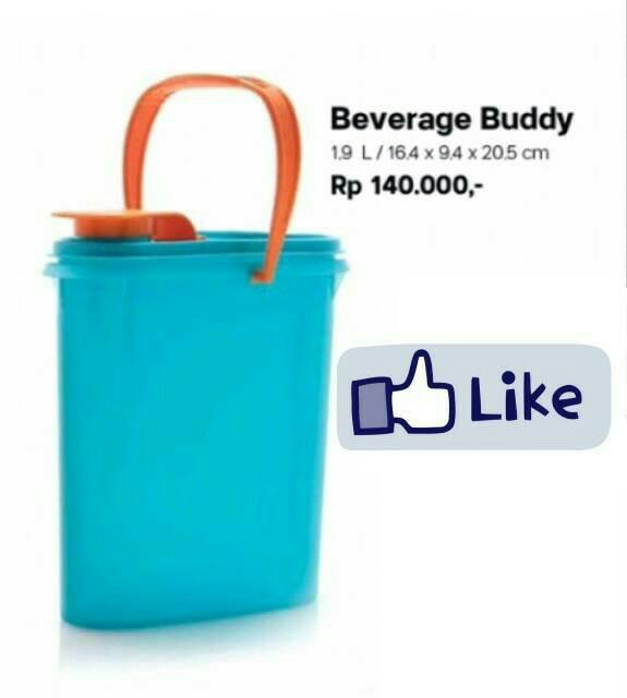 TERBARU Beverage Buddy Tupperware pitcher 1.9L