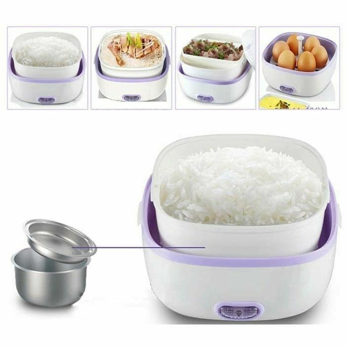 -Best Seller mini rice cooker 2Susun + Egg boiler -Termurah mini rice cooker -Produk Termurah Terlaris-