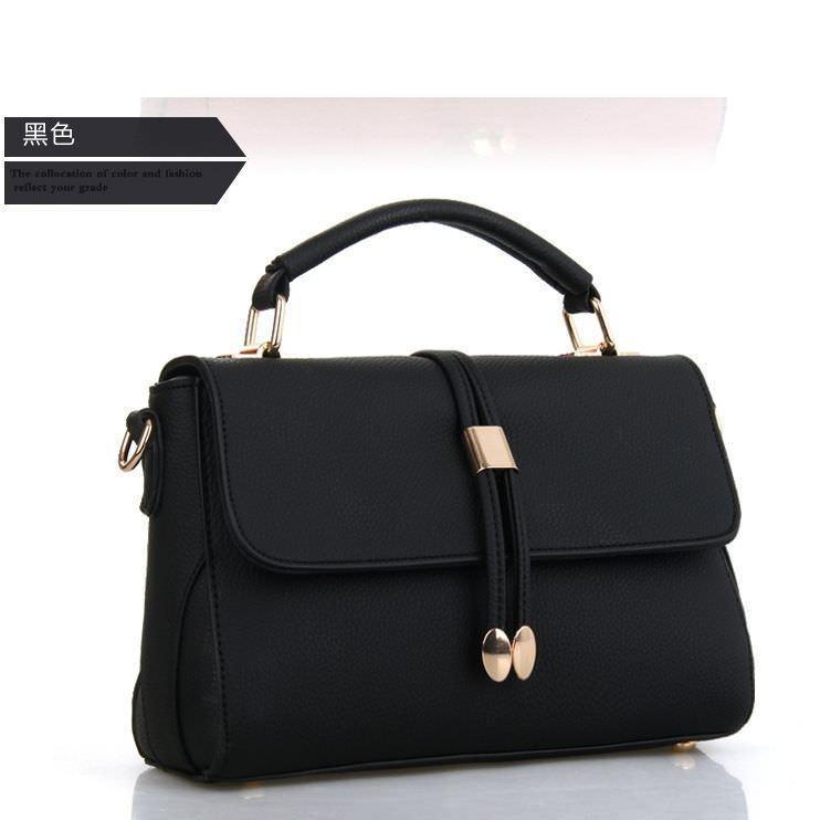 Tas Branded Wanita - Top-Handle Bags - PU Leather - 89319 5182668026