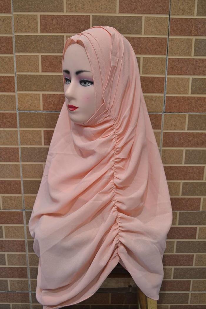Jilbab Instan Unik Dengan 2 Faces