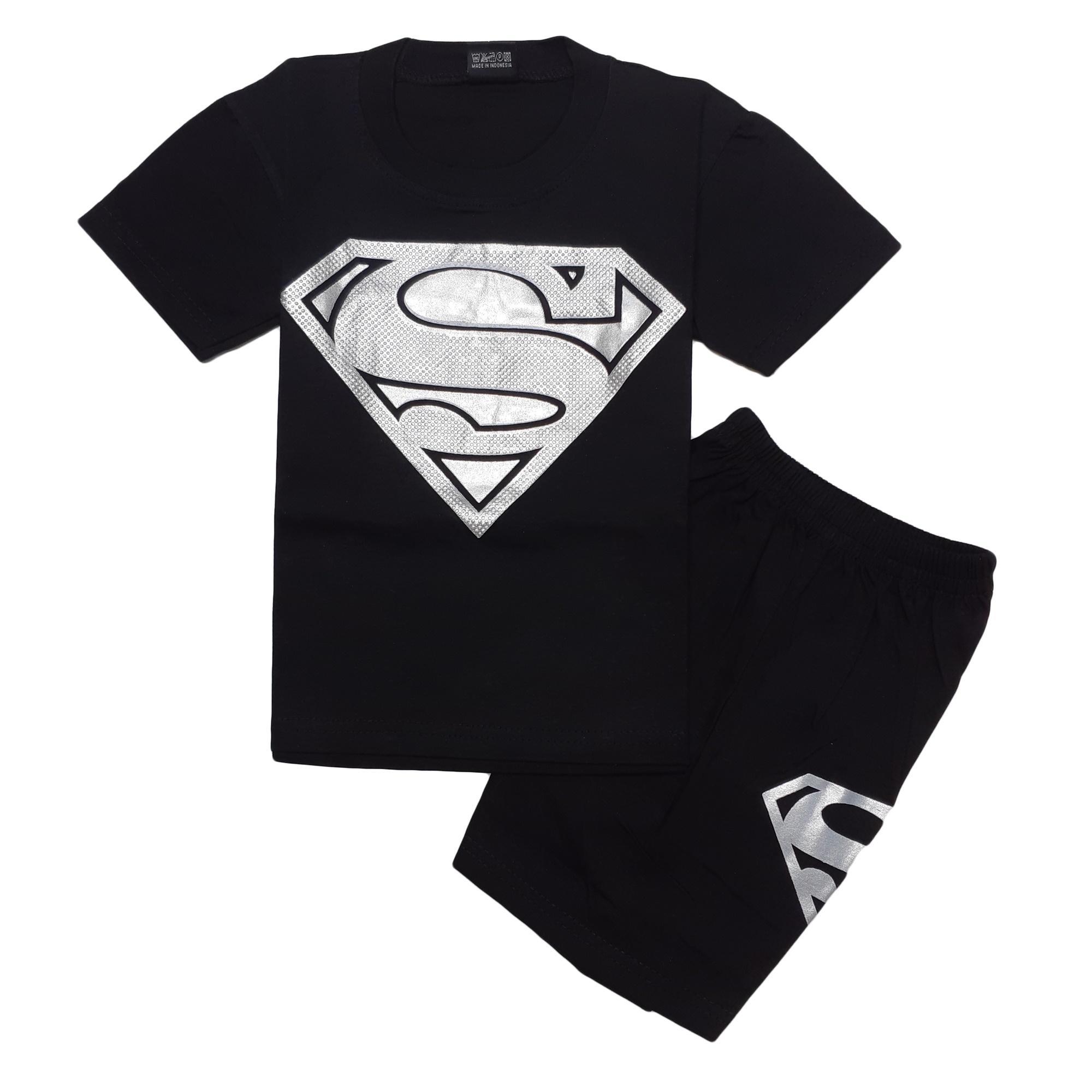 Jual Baju Atasan Anak Laki Kaos Singlet Pria Superhero