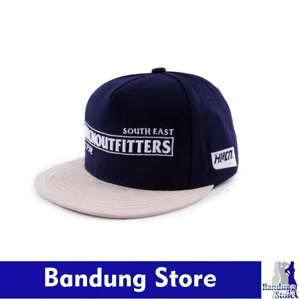 Topi Pria / Snapback / Topi Distro / Topi Cowok (HRCN) - H 8011 di lapak Bandung Store bandung_store