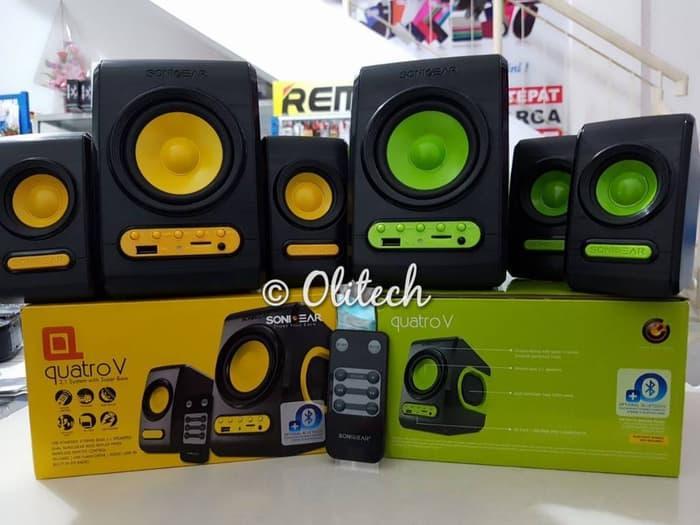 Promo Terpopuler Speaker Sonicgear Quatro V
