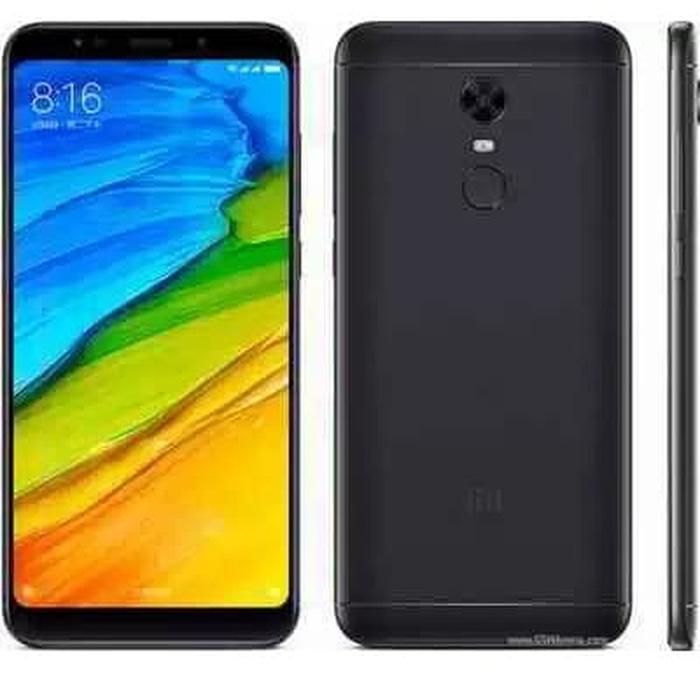 Smartphone Xiaomi Redmi 5 Plus,layar 5,9'' 3/32 balck