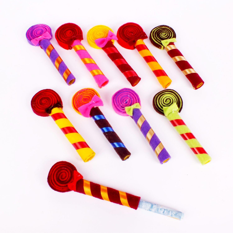 Sumber Plastik - Amplop Angpao Lebaran Ampau Model Lollipop Tempat Uang Unik - 12 pcs