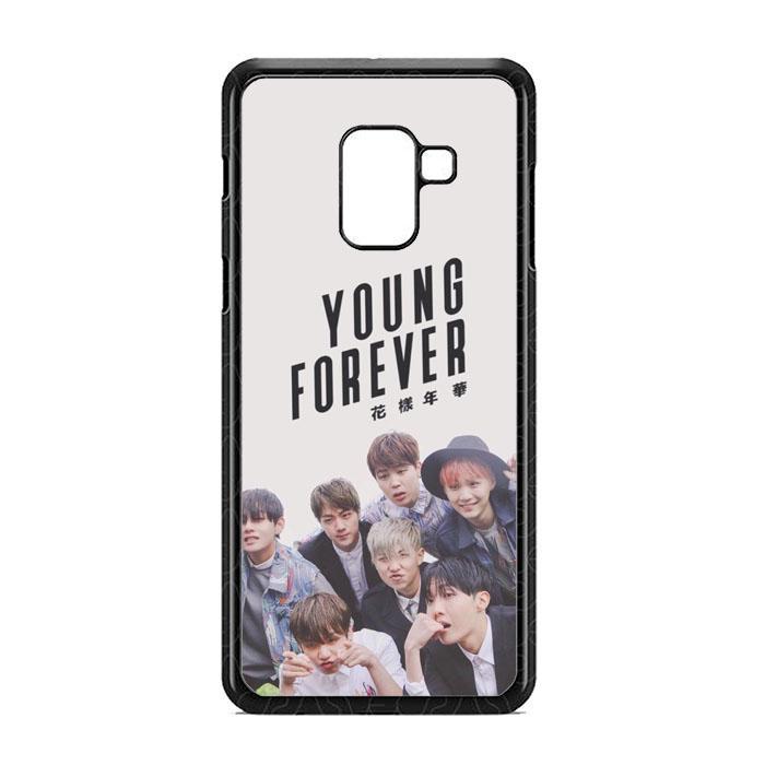 Casing Custom Samsung Galaxy A8 2018 Young Forever BTS O4059