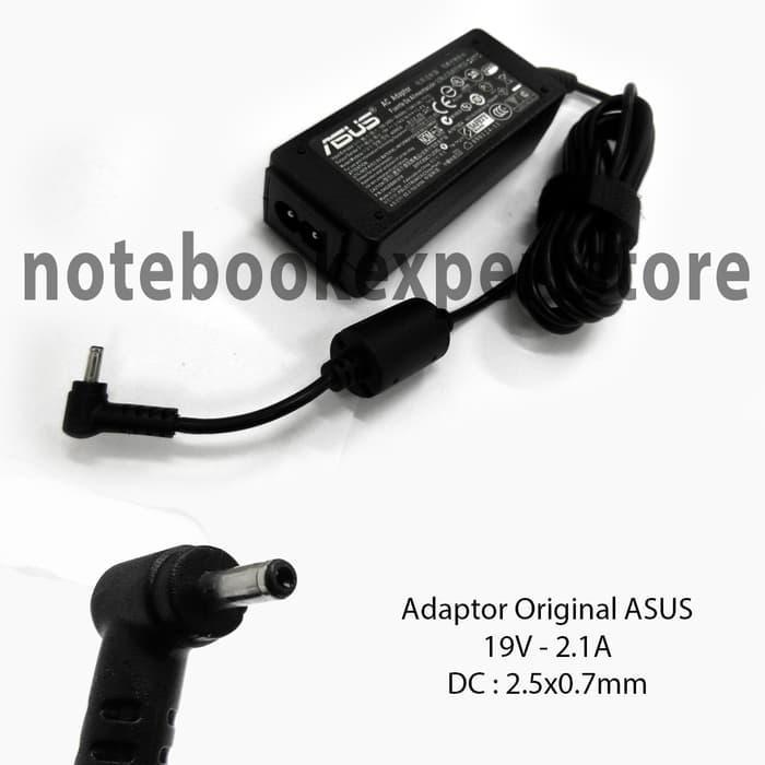 Adaptor/Charger Laptop/Notebook Asus 19V -2.1A Original Soket Kecil