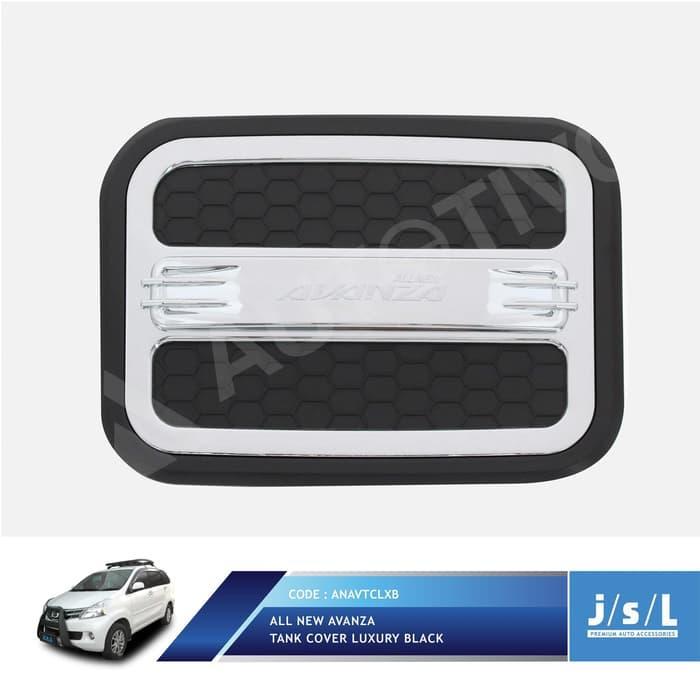 Grand All New Avanza Cover Tutup Bensin Jsl/tank Cover Luxury Black By Mapshop.