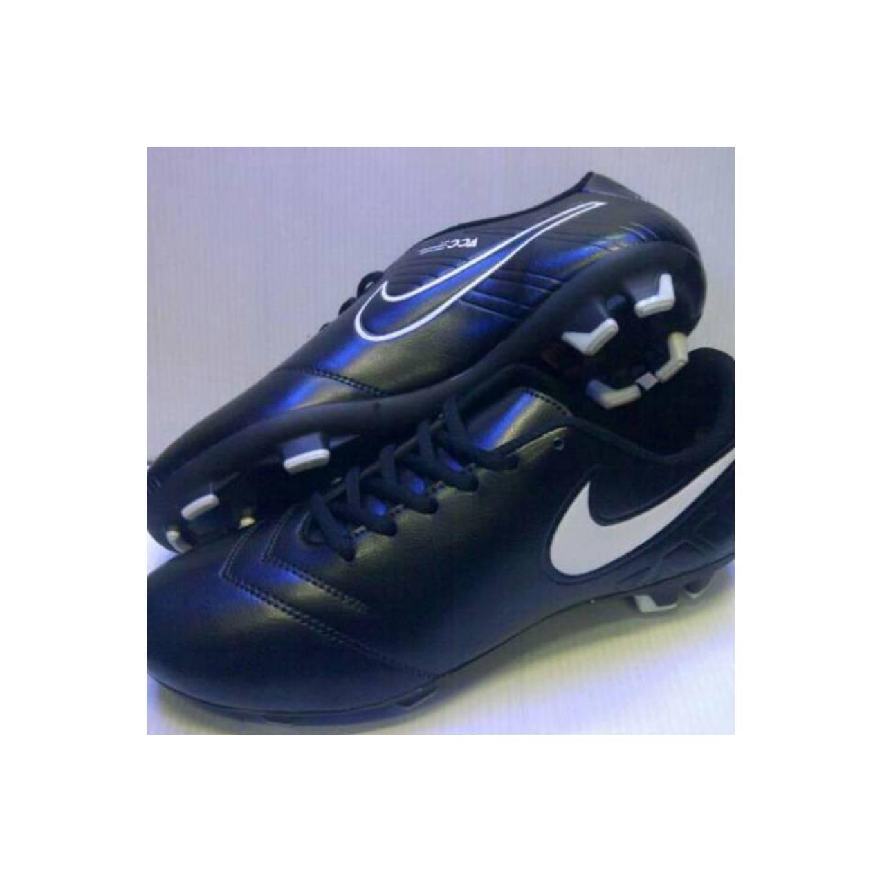 Sepatu Futsal Nike Tempo Hitam - Kualitas KW Super