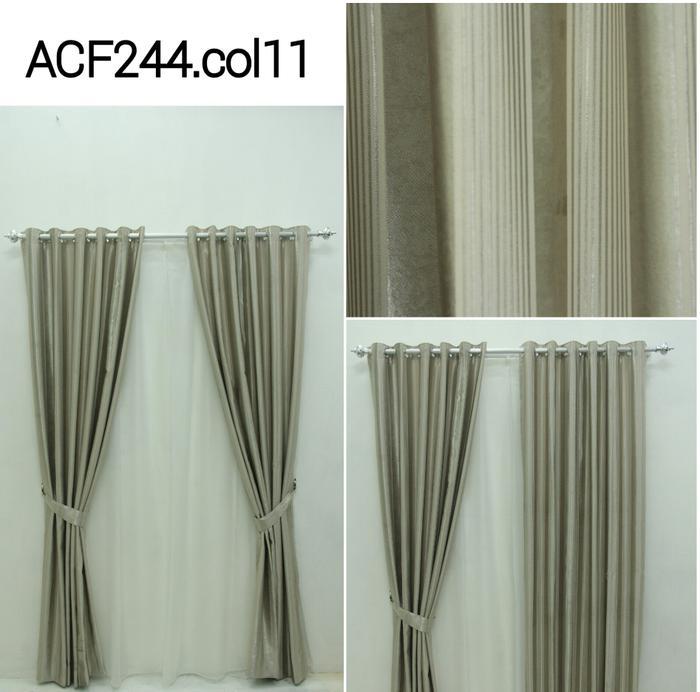 Gorden jendela, hordeng, minimalis blackout dimout ACF 244 Col 11 - q9Rkja