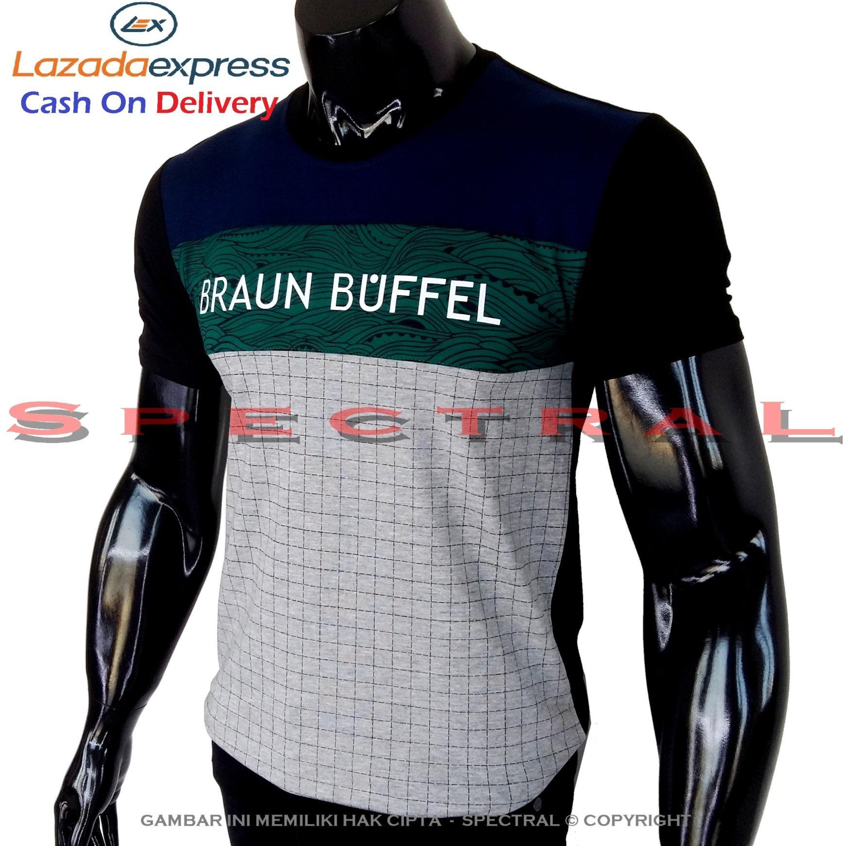 Spectral - Kaos Distro BRAUN BUFFEL Soft Rayon Viscose Lycra Pola M Fit To L Simple Fashionable Tid