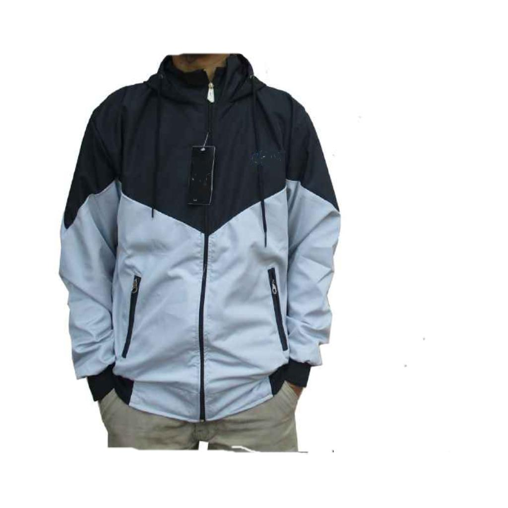 Jaket Parasut Pria Dan Wanita Mode Kombinasi Trendy Sporty Multicolour