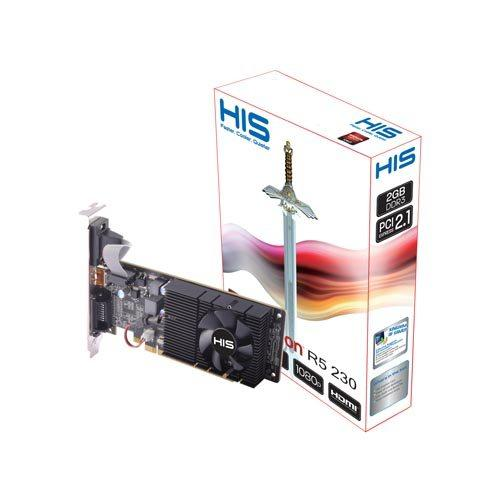 VGA Card HIS Ati Radeon R5 230 1 GB DDR3 64 Bit PCI 2.0 TERLARIS