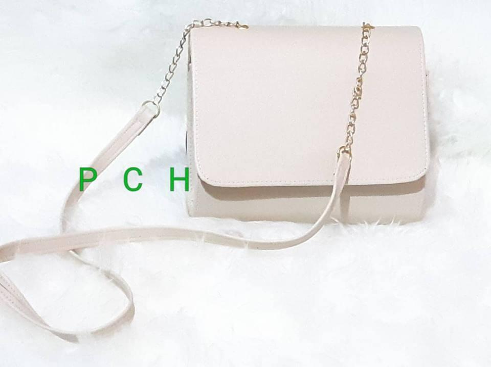 PCH Shop Tas selampang wanita HM Cream