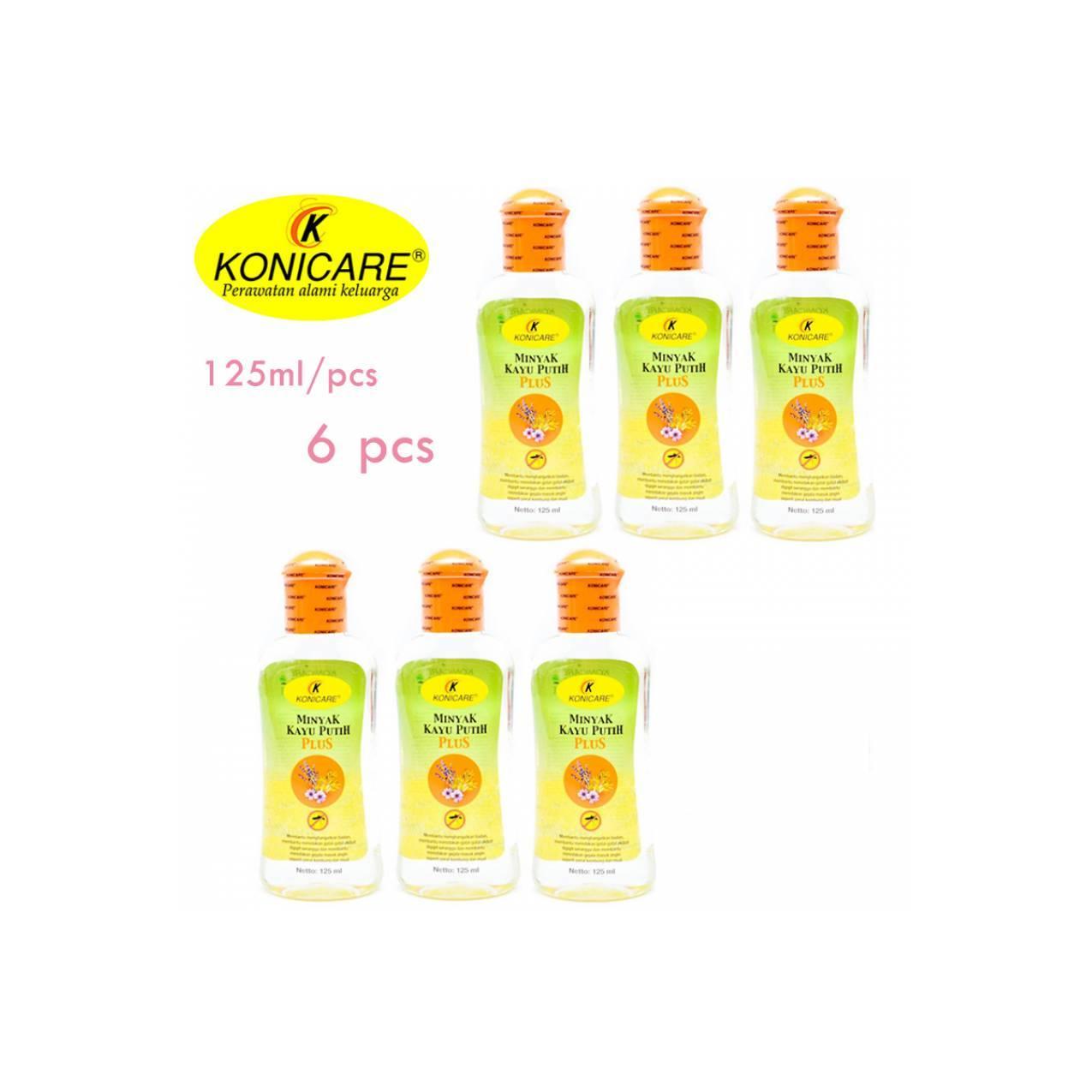 Konicare Minyak Kayu Putih 125 Ml Daftar Update Harga Terbaru Dan Paket 125ml 3 Pcs Mtk027 Plus 6
