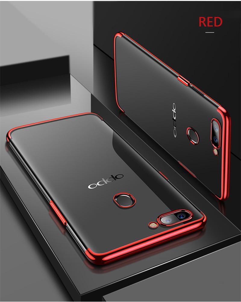 GSU OPPO F7 Shiny Transparen Bening Ultra Thin TPU Soft Case / Soft Case Oppo F7 / Hard Case Oppo F7 / Case Hp Oppo F7 / Armor Case Oppo F7 ...