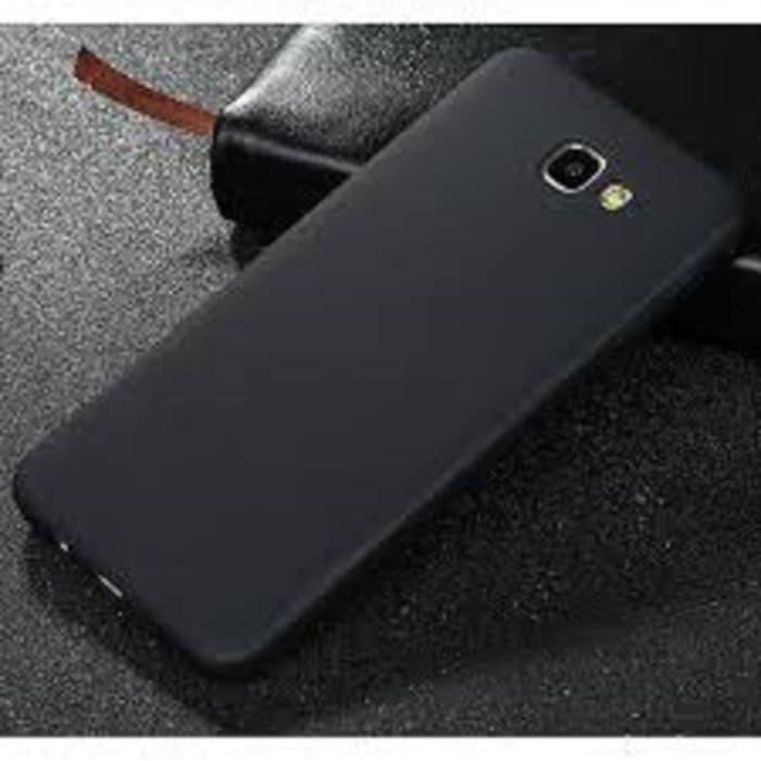 Case Slim Black Matte Samsung A5 2016 Softcase Anti minyak