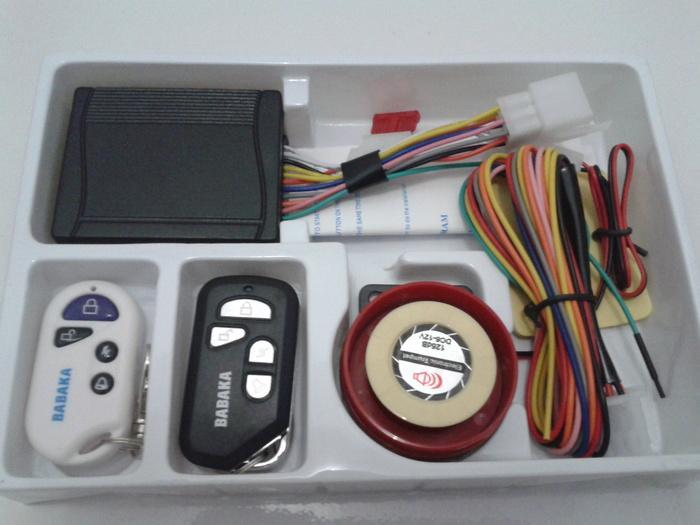 alarm motor mio m3 + cara pasang bahasa indonesia lengkap | ( gembok alarm motor anti maling koper sepeda pagar cakram kinbar kode tas mobil clock rumah sensor gerak pintu digital remote lock bht ) |