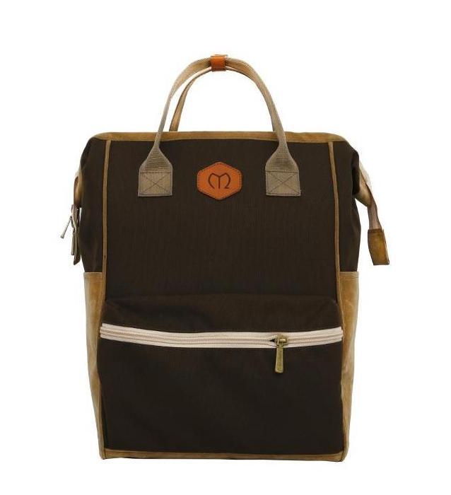 Backpack Molluca Travolla Brown,Tas Ransel Traveling Wanita Murah