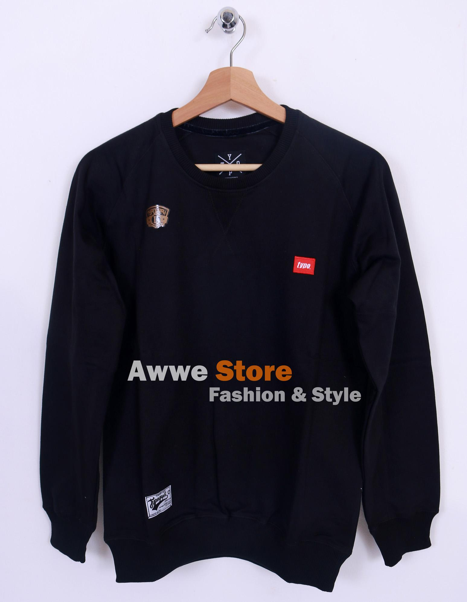 Awwe Store Sweater termurah / sweater pria / sweater distro / sweater tanah abang / sweater fashion / jaket / sweater thypograph 05