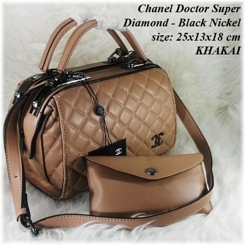 Tas Wanita Fashion Handbag Tas Import Chanell Doctor Chanel Murah Berkualitas