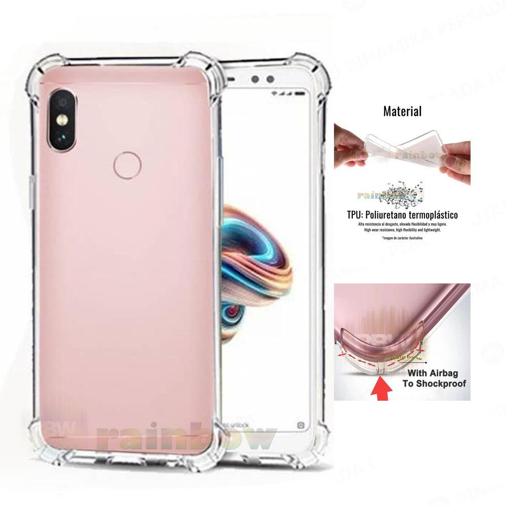 Rainbow Soft Case Anti Crack Untuk Xiaomi Mi A2 Lite Anticrack Xiaomi Mi A2 Lite Anti
