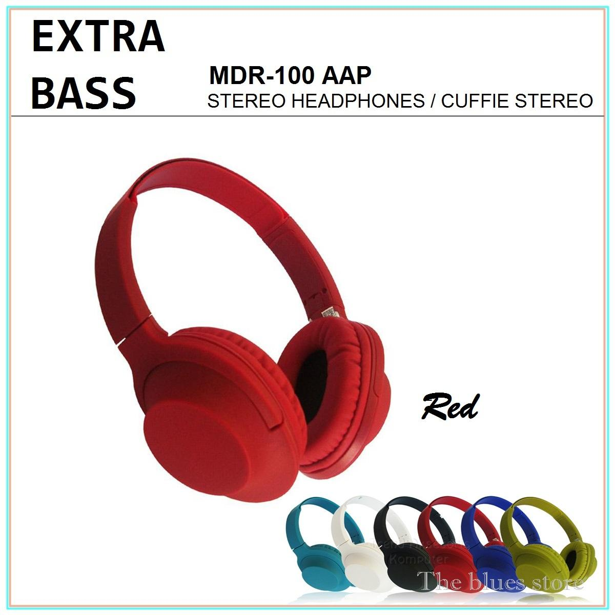 Extra Bass MDR-100 AAP Headphones Stereo Cuffie