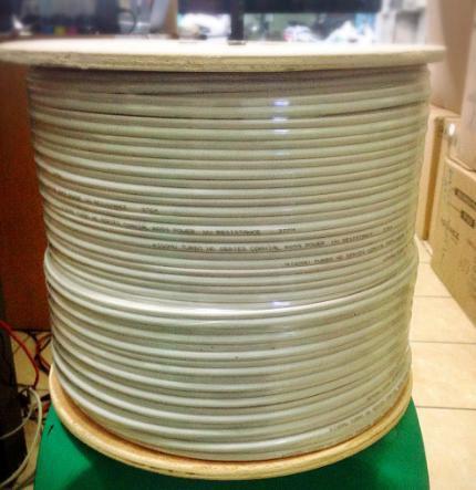 Kabel Cctv RG59 Plus Power Per Meter Cable Cctv RG 59 @meter