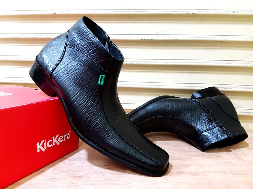 Promo Sepatu kerja kantoran Kickers pantofel kulit asli Size 39-45 formal pria #nike #lacoste #crocodile #bally Fashion