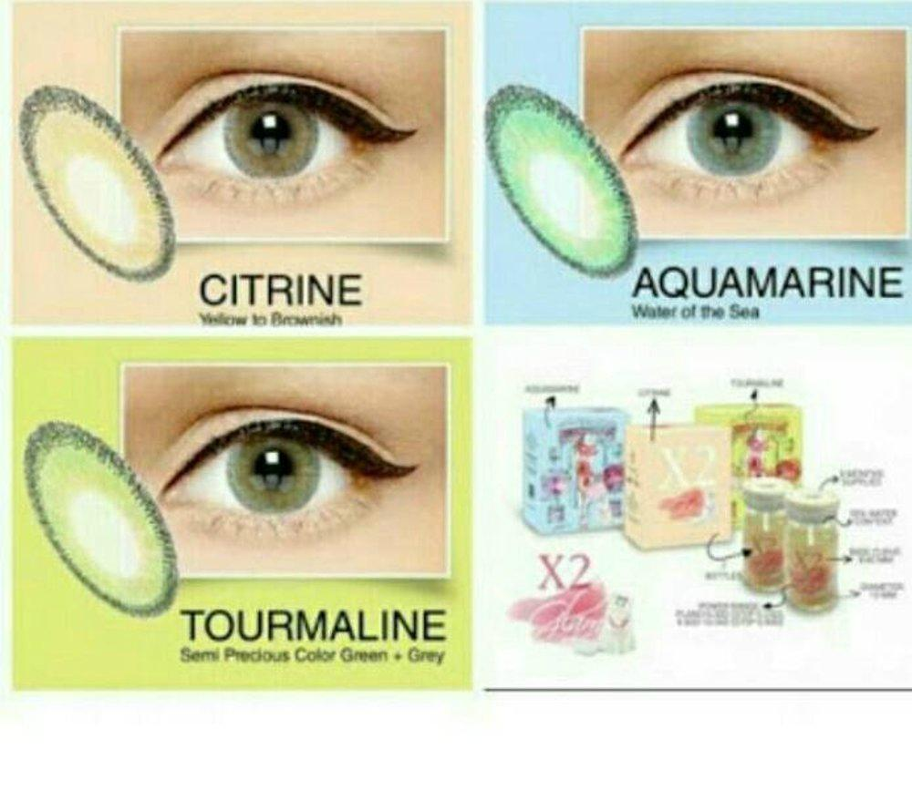 X2 GLAM SOFTLENS - DIAMETER 15MM WATER 55
