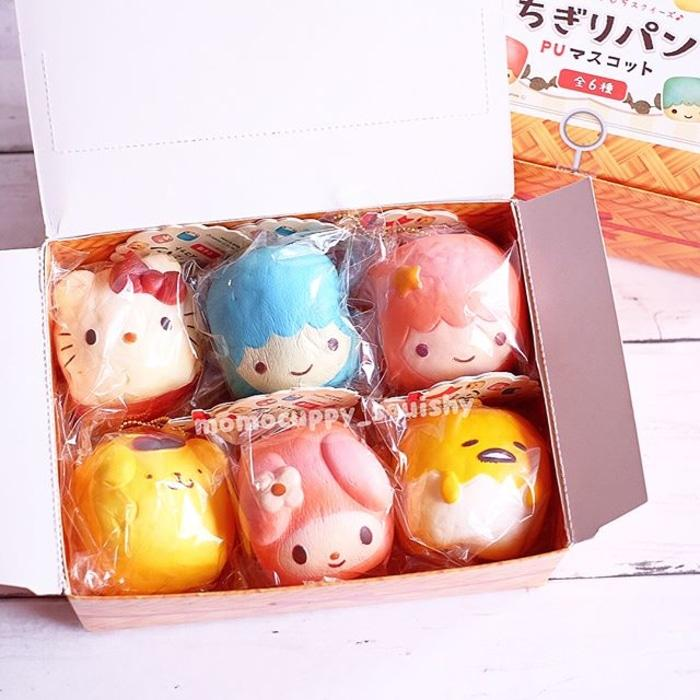 Character Chigiri Bread Squishy Licensed By Sanrio (original Jepang) - Jkai45 By Amanda Collections.