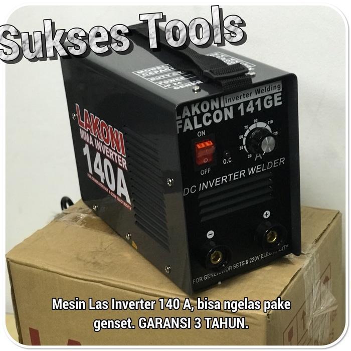 Promo  Mesin Las Lakoni Trafo Las Falcon 141 GE 141GE bisa pake genset  Original